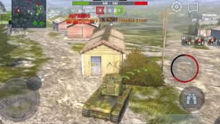 WOT Blitz! | KV-2 Platoon Gameplay!