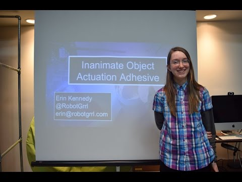 """Solve For X: The Grommet - Erin Kennedy's """"Object Actuation Adhesive"""" Presentation"""