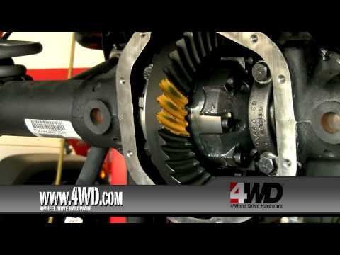Jeep Drivetrain Winner: Installing Detroit Truetrac Differentials and Locker