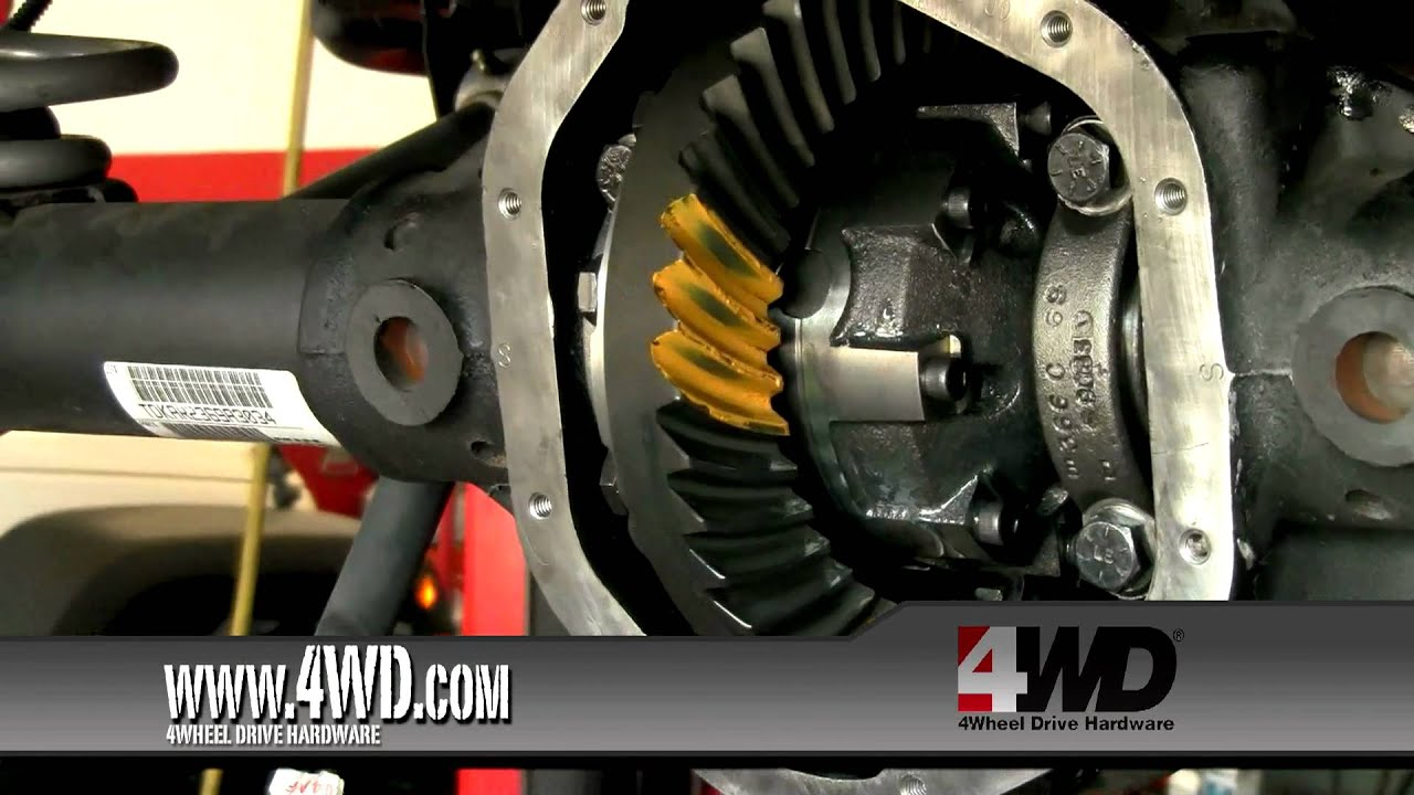 Jeep Drivetrain Winner Installing Detroit Truetrac Differentials And Locker Youtube
