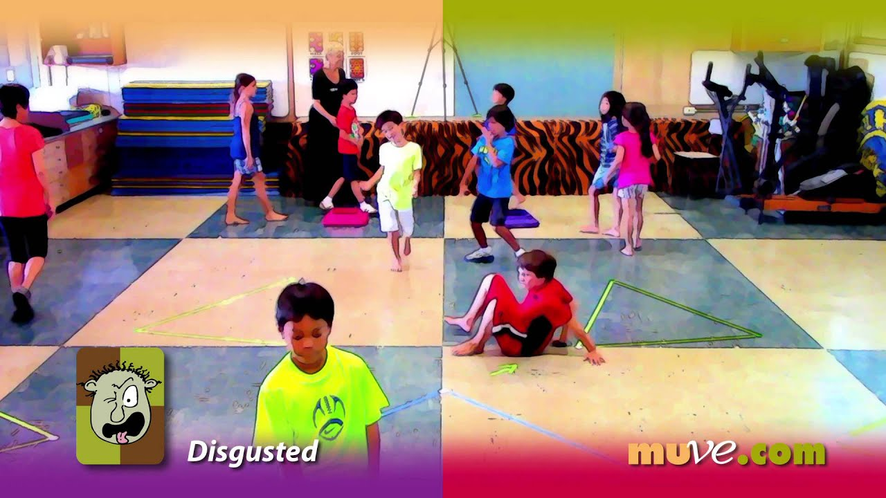 Movement Activity Game Inspires Elementary School Kids To Express Emotions With Their Bodies