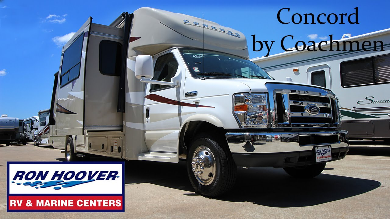 Coachmen Concord video explains features and construction of this Class C  motorhome  281-829-1560 by Ron Hoover RV & Marine of West Houston