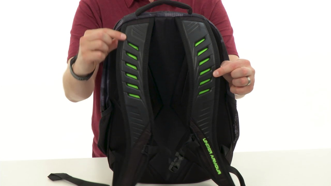 Under Armour UA Contender Backpack SKU 8685561 - YouTube 7b4b008f87a45