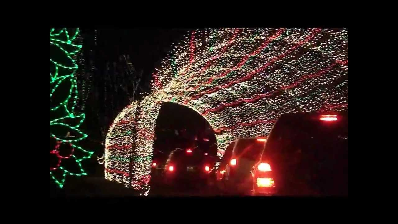 Winter Wonderland at Tilles Park - YouTube
