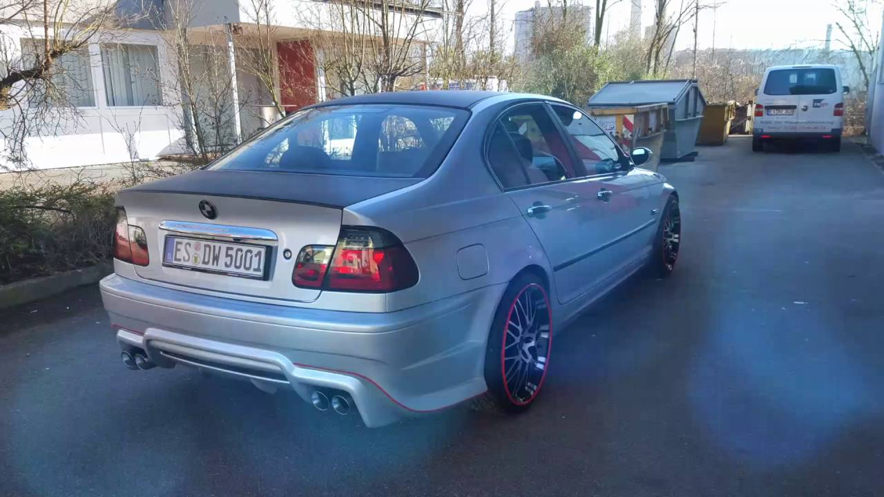 bmw e46 m paket youtube