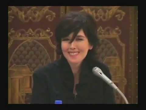 Isabelle Adjani-Conférence de presse(sur le film Adolphe)