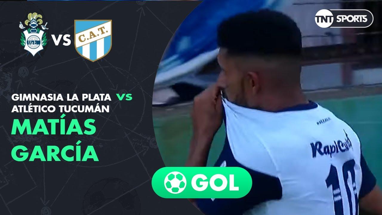 Matías García (1-0) Gimnasia LP vs Atlético Tucumán | Fecha 22 - Superliga Argentina 2019/2020