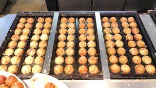 japanese street food - famous japanese gindaco takoyaki