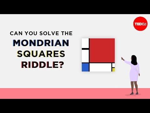 Can you solve the Mondrian squares riddle? - Gordon Hamilton