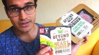 Beyond Meat Burger Review: Beyond Burger & Beast Burger