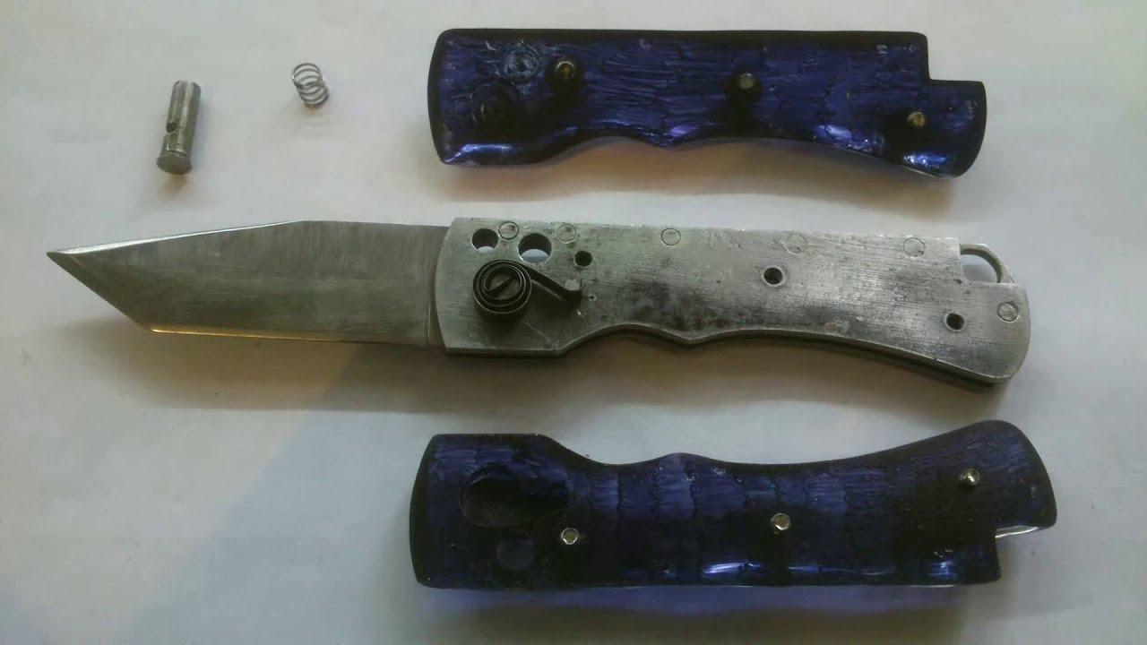Выкидные ножи своими руками фото