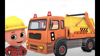 Kids Toys - Construction Loader Truck chase for kids - Unboxing Surprise Eggs from Jugnu kids