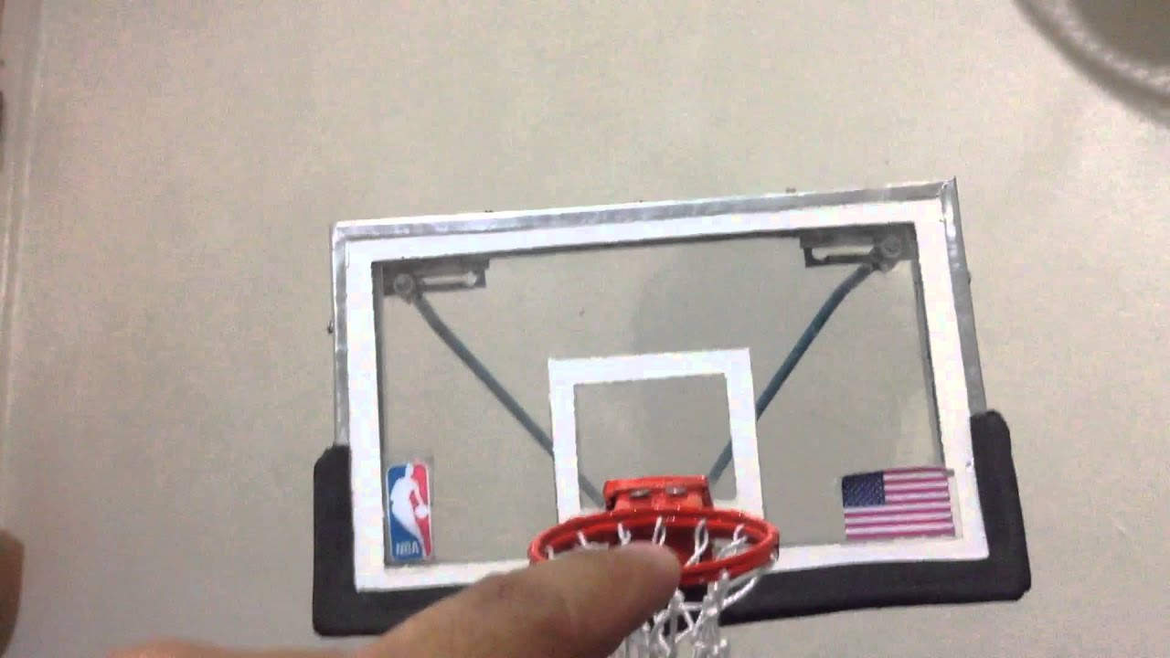 Model 2015 NBA spalding backstop - YouTube