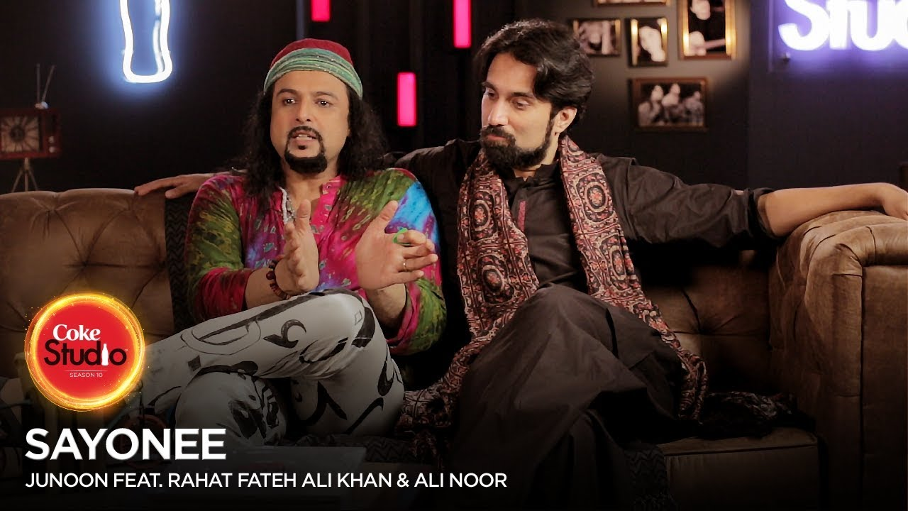 Coke Studio Season 10| BTS| Sayonee| Junoon Feat Rahat Fateh Ali Khan & Ali Noor