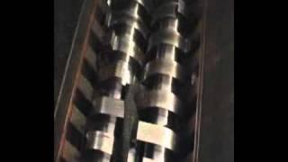 Linia do recyklingu opon - granulat lub płatki - Biopaliwo  maszyny do recyklingu opon