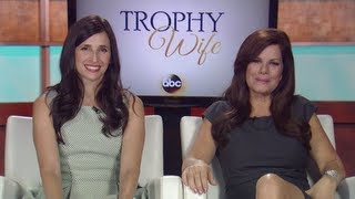 #RedCarpetReport Interview w/ Marcia Gay Harden & Michaela Watkins: ABC's Trophy Wife #TrophyWife