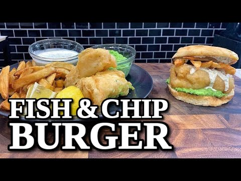Fish And Chips Should Always Be Eaten In Burger Form | Fish And Chips