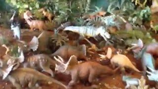 Most awesome dinosaur toy diorama ever? Pawnosuchus