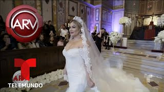 Imágenes exclusivas de Chiquis en el ensayo de su boda | Al Rojo Vivo | Telemundo