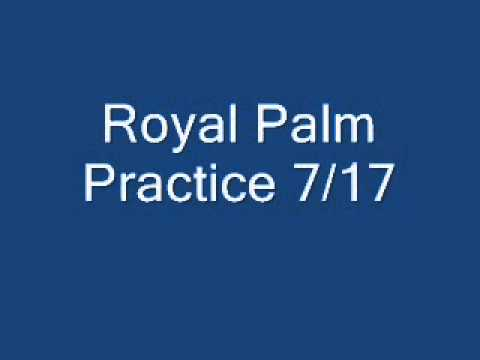 Royal Palm Beach practice 0717