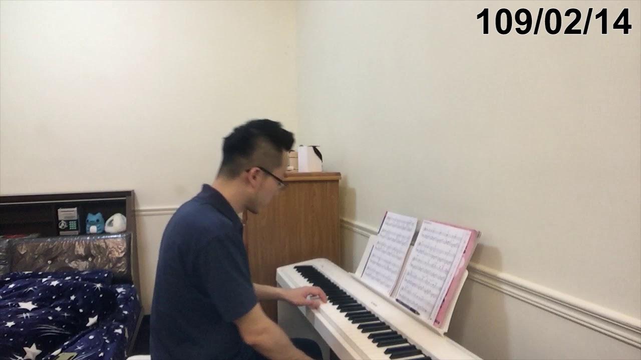 【鋼琴紀錄#18】練習Am和弦 假如愛有天意(3M1W) - YouTube