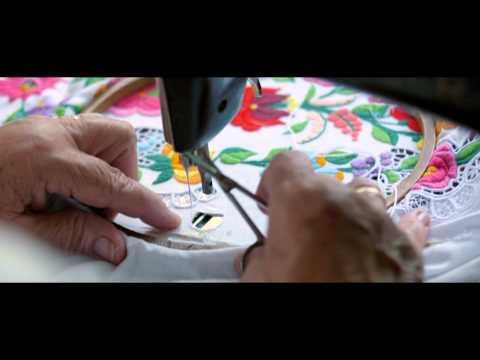 43133fa14e Tiritarka kalocsai minták - YouTube