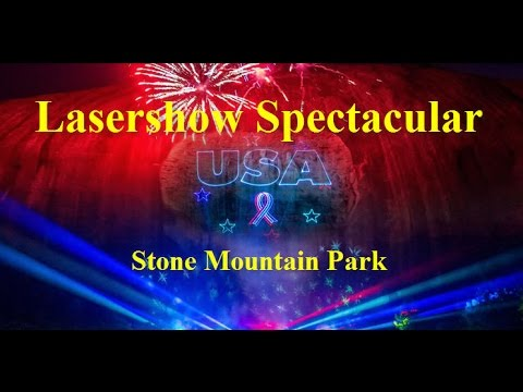 laser light show stone mountain