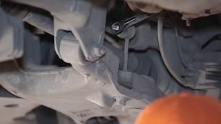 Cómo cambiar Bieleta de barra estabilizadora BMW 1 (E81) - vídeo guía
