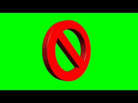 Repeat Animated Neon Open Sign ~ Green Screen by Crude