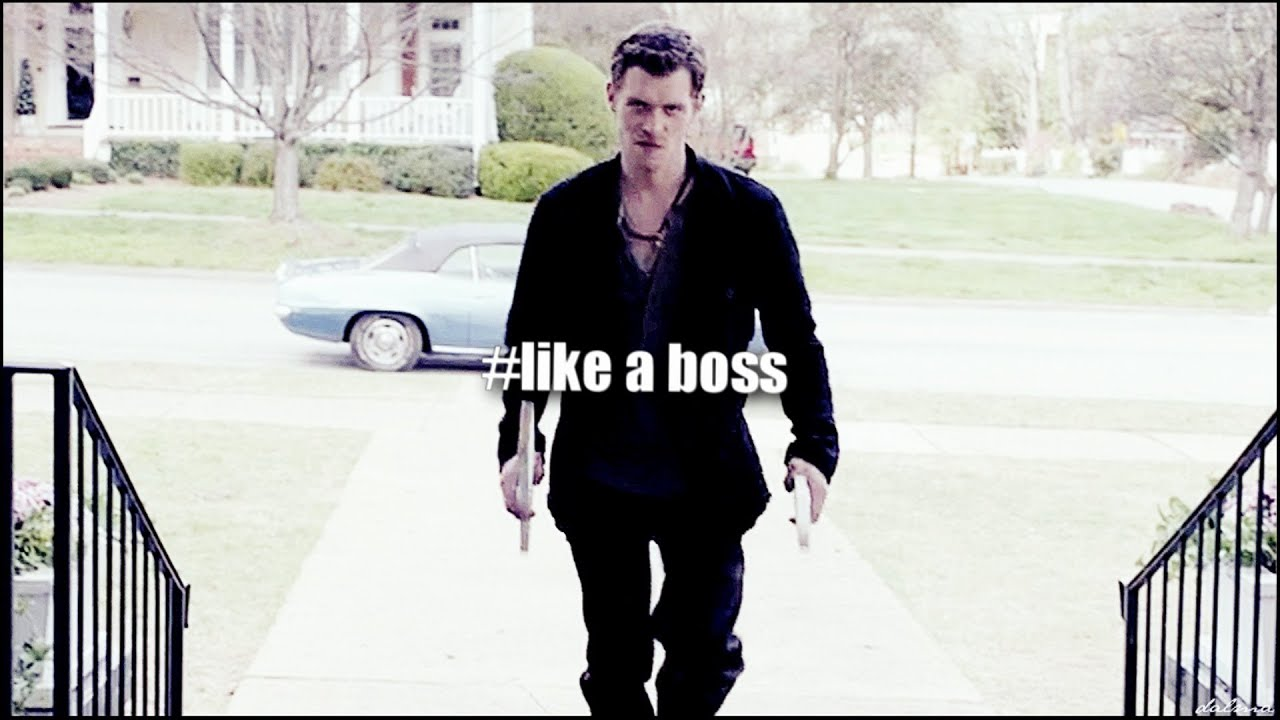 Klaus Mikaelson Quotes Trouble  Best Of Klaus Mikaelson Hbd Trixi  Youtube