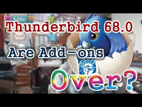 Thunderbird 68 & The Future Of Add-ons / Stationery Replacement / SmartTemplate⁴ 2.3 Released