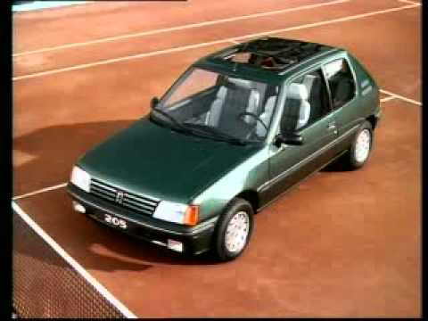 peugeot 205 roland garros youtube. Black Bedroom Furniture Sets. Home Design Ideas