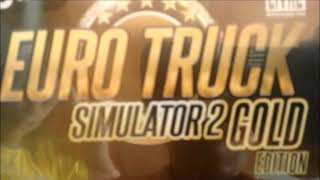 Unboxing euro truck simulator 2 gold edition