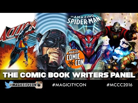 The Comic Book Writers Panel at Magic City Comic Con Jan 2016