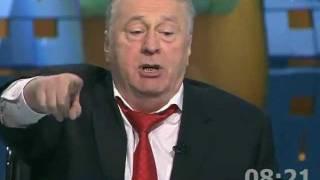 Жириновский и Сергей Миронов. Дебаты 20.02.2012