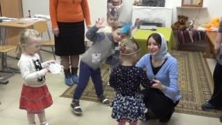 Урок для малюків у ВШ Собору