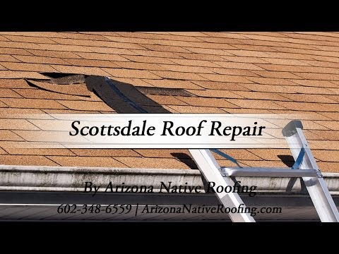 Scottsdale Roof Repair by Arizona Native Roofing