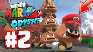 Super Mario Odyssey Part 2 | Sand Kingdom Gameplay Walkthrough | CAPPY IS EPIC!