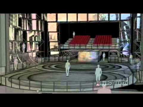 Starlight express at joburg theatre stage design 2013 for Stage 47 designhotel