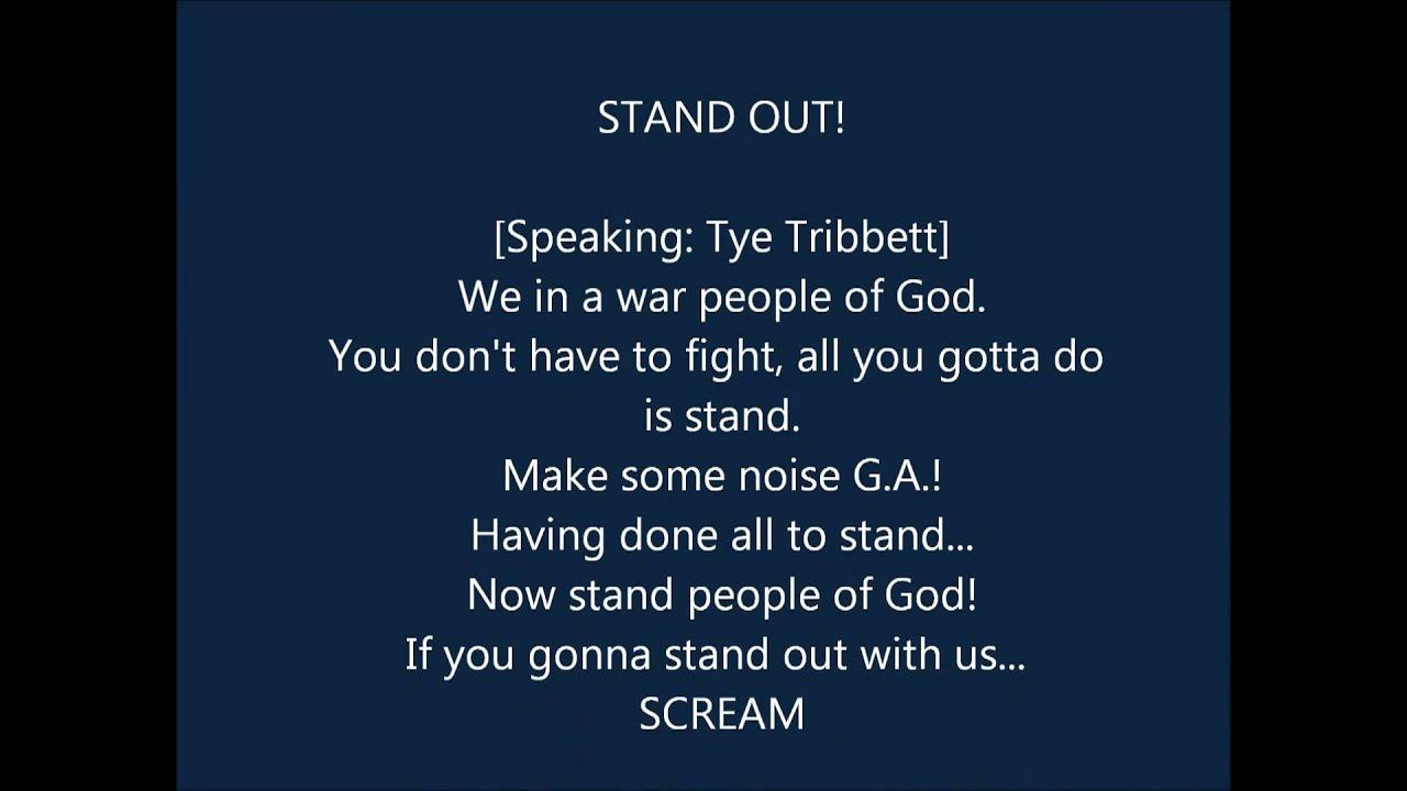 tye-tribbett-stand-out-lyrics-chidinma-ituma