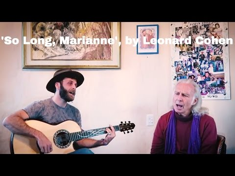 So Long, Marianne - Leonard Cohen (cover by Nate and Marc Maingard)