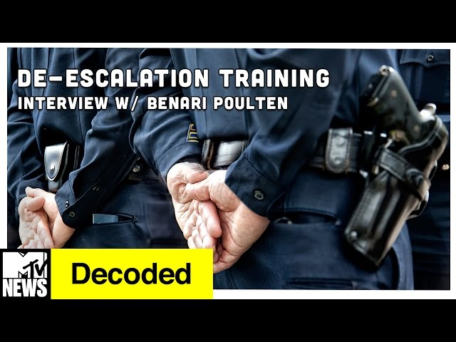 Can De-Escalation Training Prevent Police Violence? | Decoded | MTV News