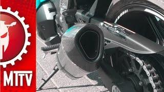 Originele uitlaat vs Akrapovic met en zonder DB killer / Kawasaki Z1000SX / VLOG #38 / Motor Tes TV