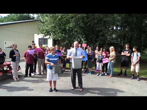 NEW JERSEY UNITED CHRISTIAN ACADEMY (NJUCA) ICE BUCKET CHALLENGE