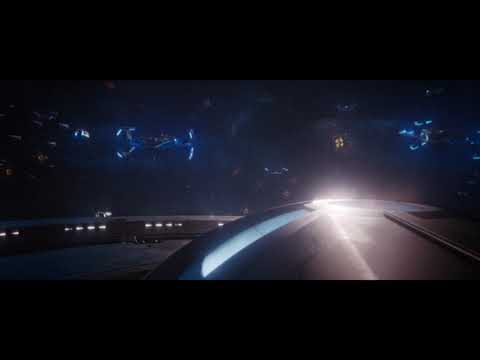 Discovery And Enterprise Vs Control, Just The Ships - Spoilers