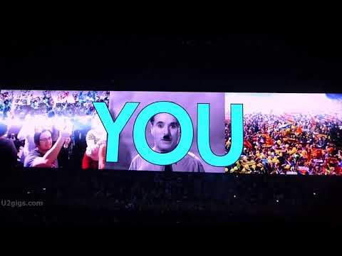 U2 Intro / The Blackout, Berlin 2018-08-31 - U2gigs.com