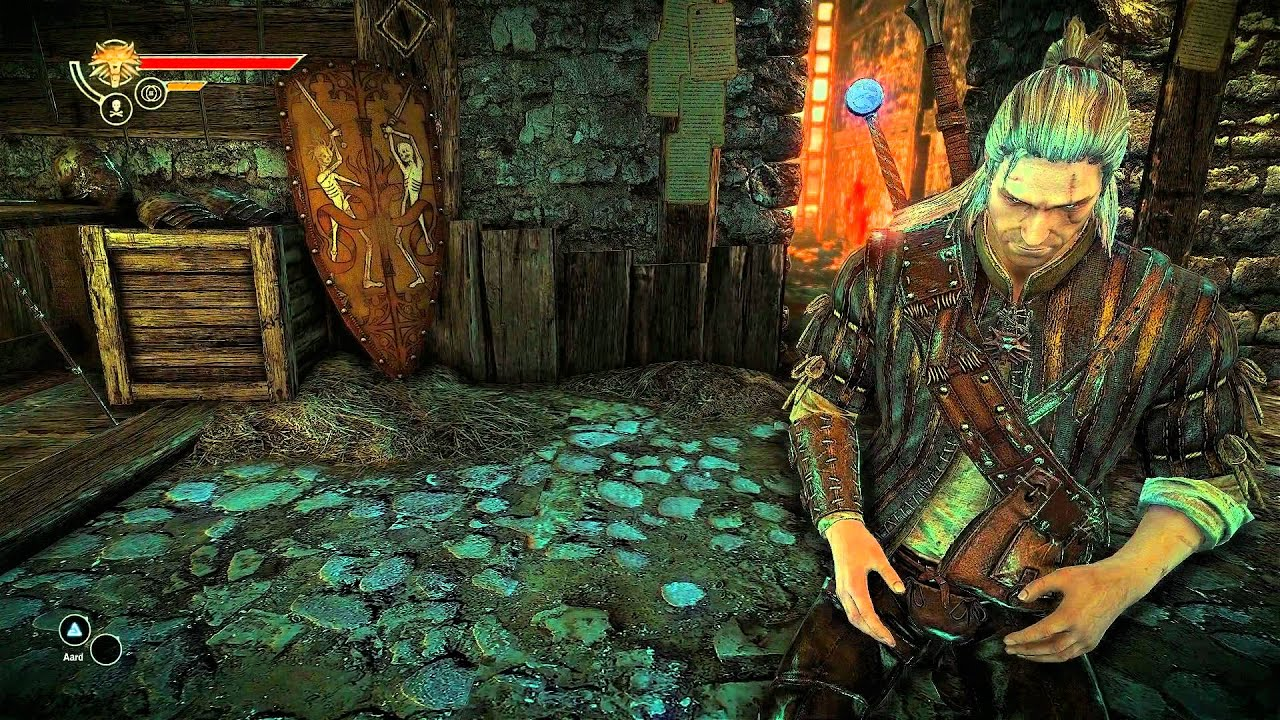 The Witcher 2 Gameplay (PC) Arena [1080p Full HD, Ultra
