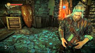The Witcher 2 Gameplay (PC) Arena [1080p Full HD, Ultra Graphics]