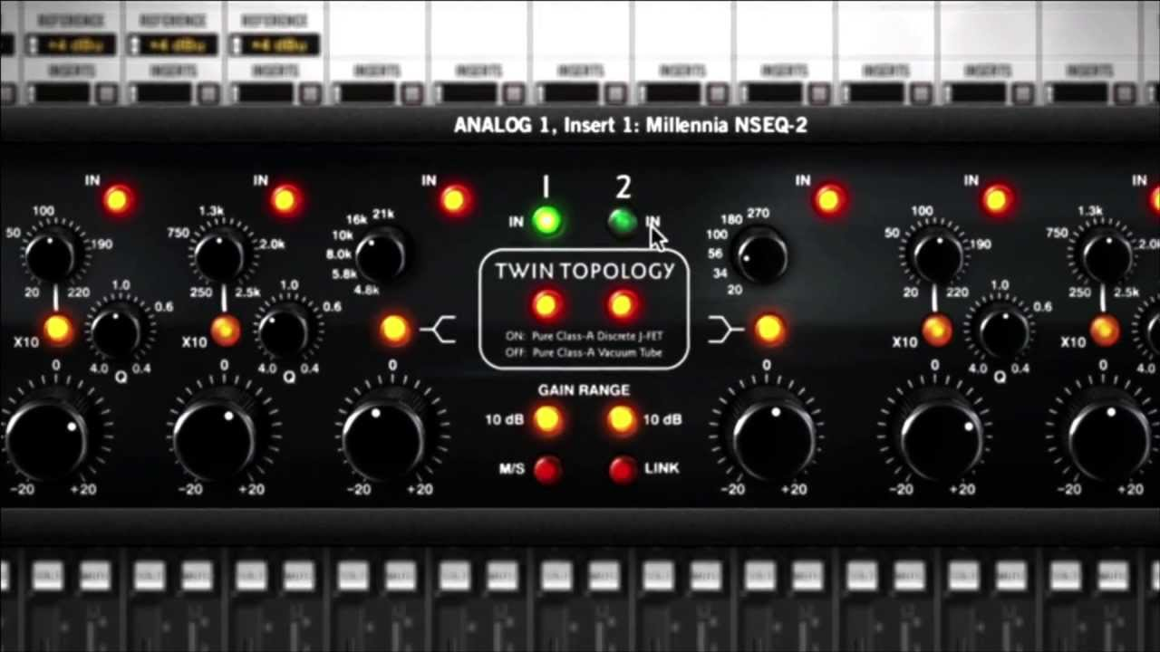 UAD Millennia NSEQ-2 EQ Plug-In Trailer