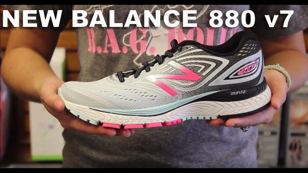 Descodificar mercado Prohibir  New Balance 880v7 Running Shoes - YouTube